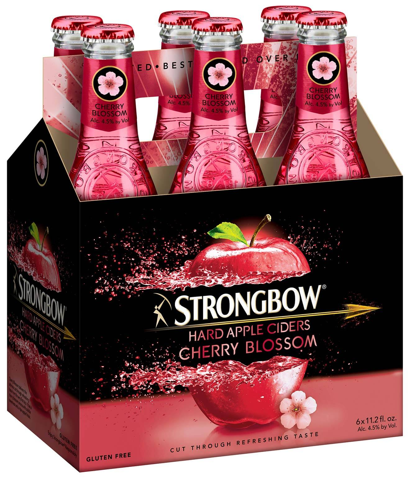 Strongbow Cherry Blossom Hard Cider, 6-pack, industry news