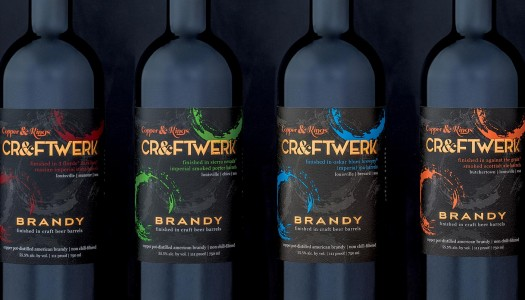 Copper & Kings American Brandy Co. Launches CR&FTWERK American Brandy Aged in Craft Beer Barrels