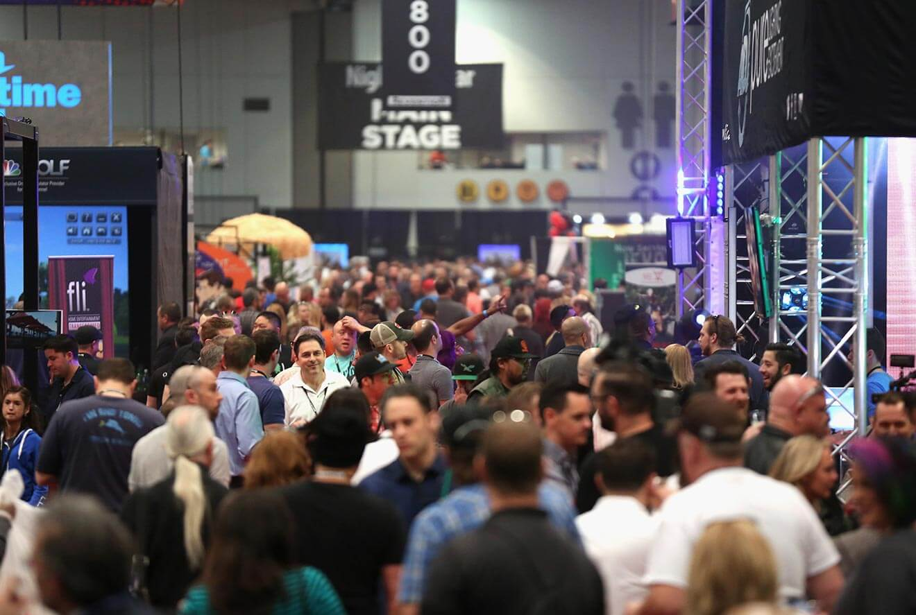 Guests attend the 31st Annual Nightclub & Bar Convention and Trade Show