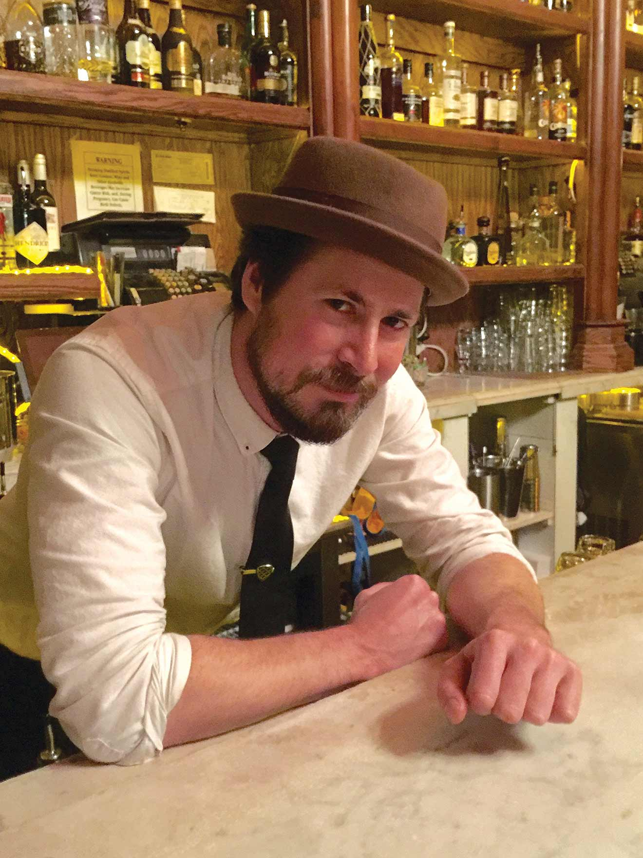 Mixologist and Chilled 100 Ambassador, Justin Roberts