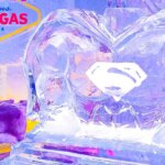 Minus5 Ice Bar at Monte Carlo Las Vegas Debuts Batman vs. Superman Sculptures, industry news, featured image