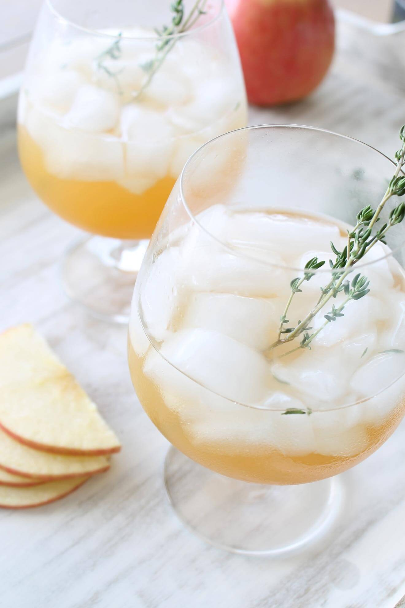 Thyme Lot-o-Luck cocktail recipe