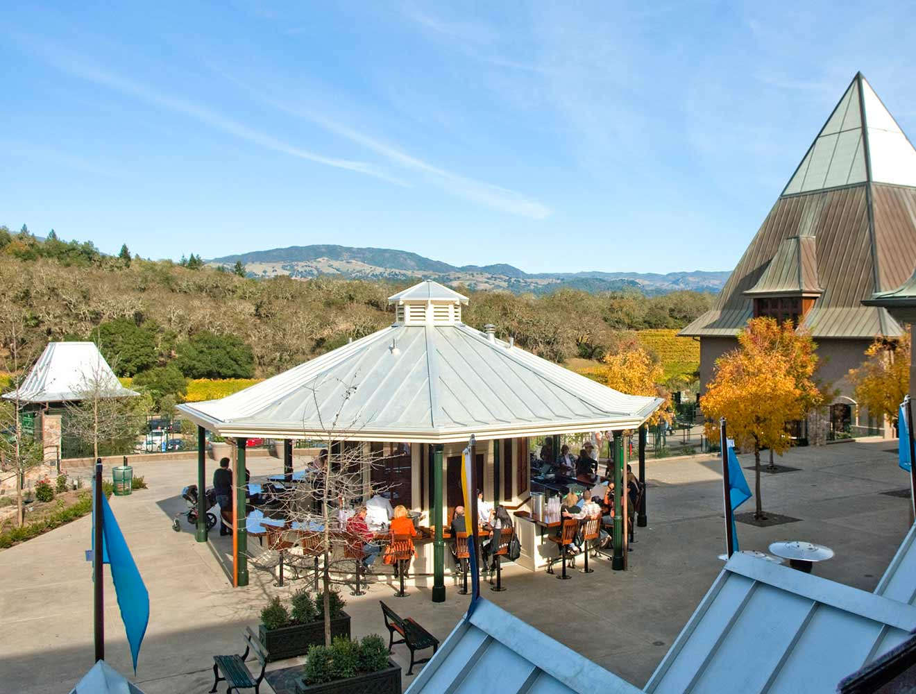 Ford Coppola's Pool & Winery Pool Cafe