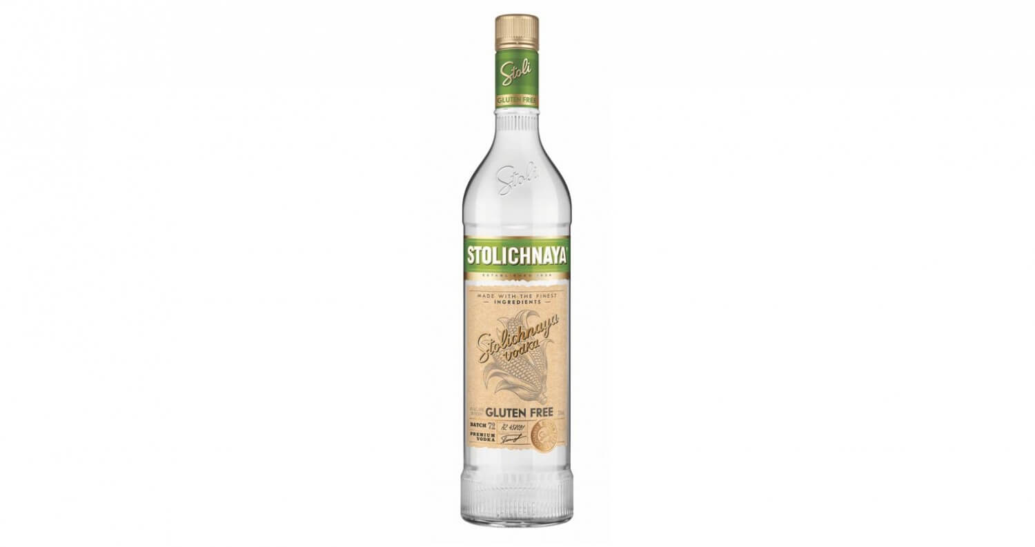 Stoli Vodka Launches Stoli Gluten Free, featured image, featured brands