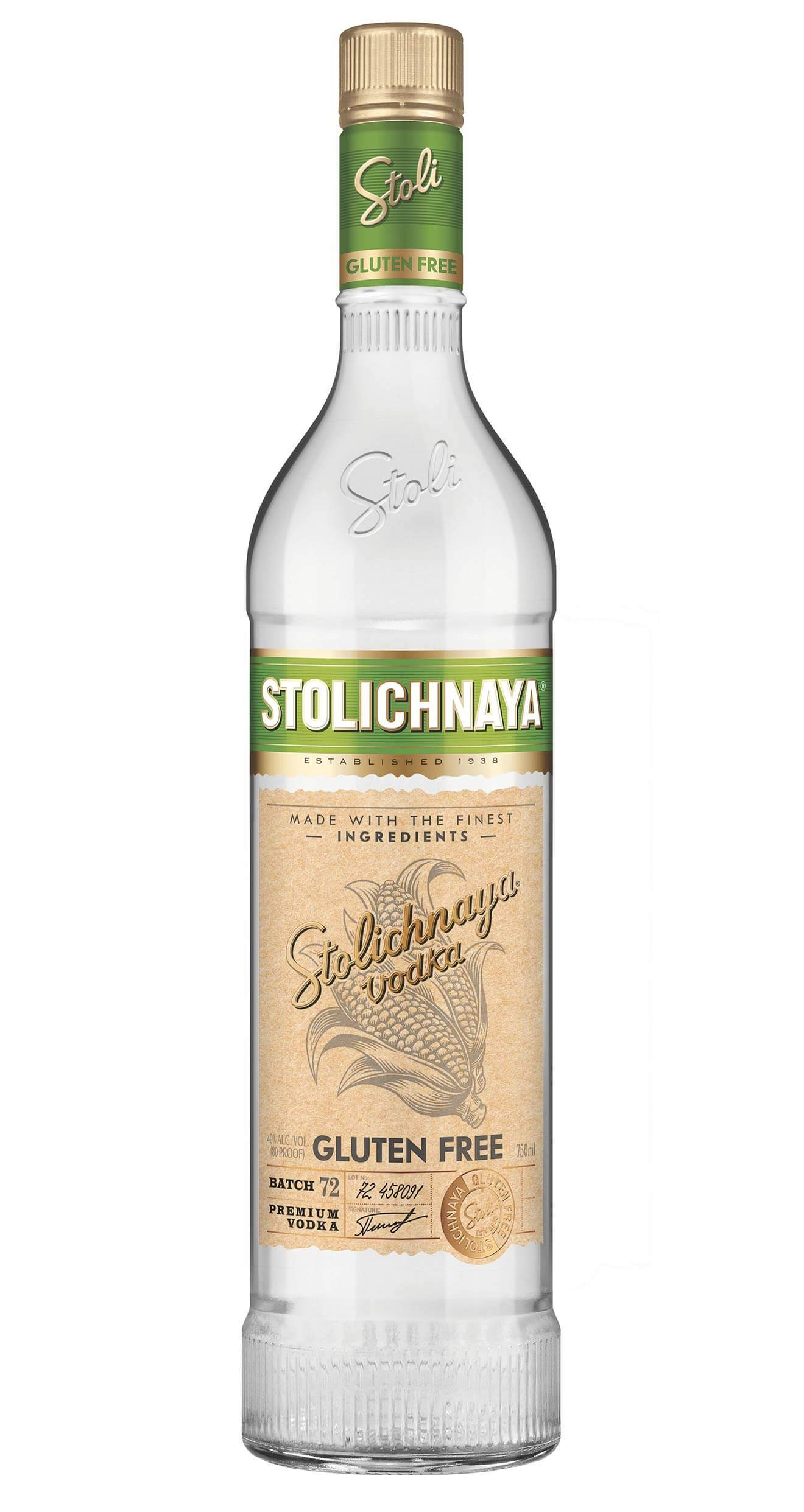 Stoli Gluten Free, featured brands
