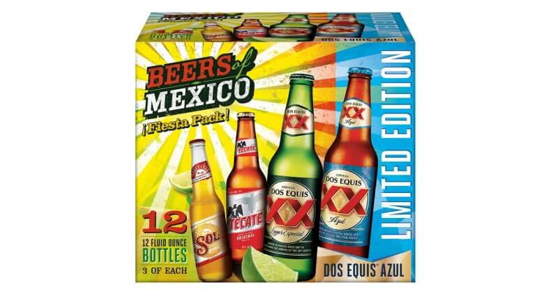 Heineken USA 'Beers of Mexico' Variety Pack Returns, beer news