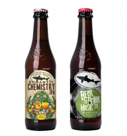 Dogfish Head Releases Two Limited Edition Beers for Spring, beer news, featured iamge