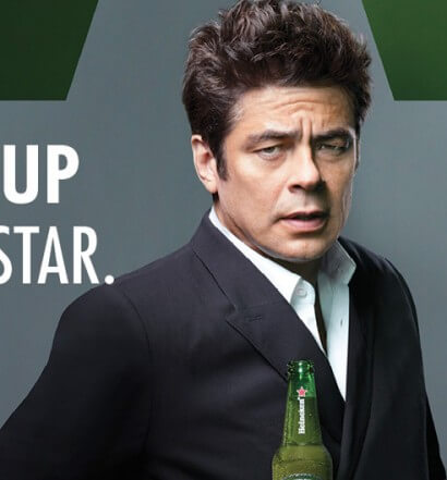 Heineken Brings You Behind the Scenes Featuring Benicio Del Toro, beer news, featured image