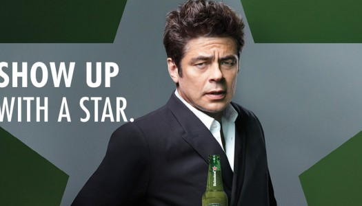 Heineken Brings You Behind the Scenes Featuring Benicio Del Toro