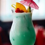 Must Mix: 'Blue Cyclone' from Pizza Beach, NYC, cocktail recipes, featured image