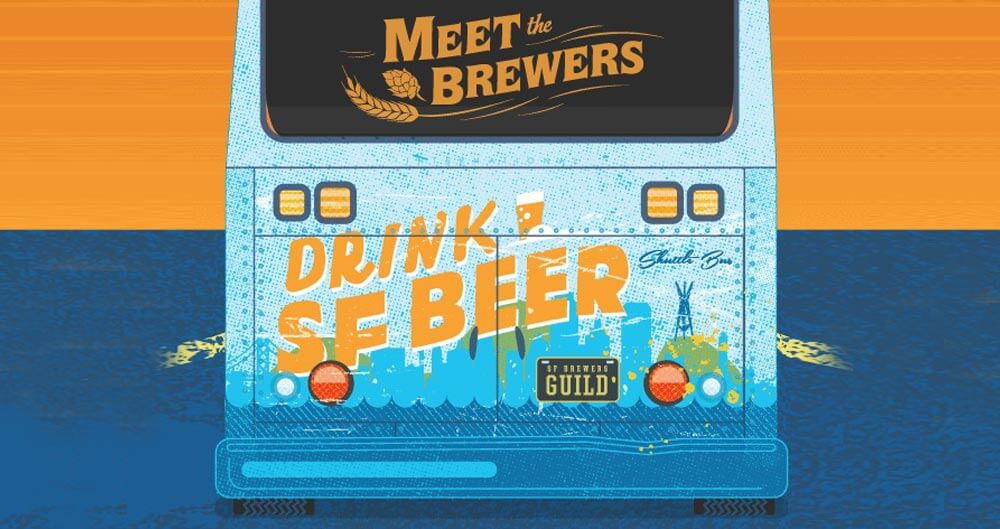 San Francisco Brewers Guild Launches 'Drink SF Beer Shuttle', industry news, featured image