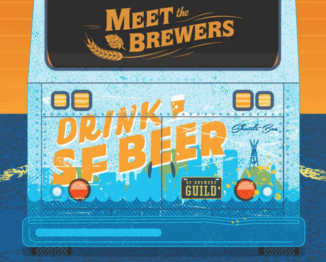 San Francisco Brewers Guild Launches 'Drink SF Beer Shuttle', industry news