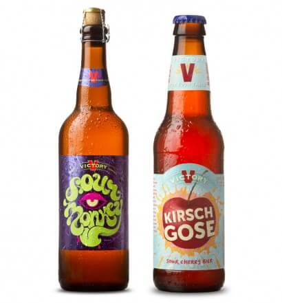 Victory Brewing Co. Brings Back Kirsch Gose and Sour Monkey, beer news, featured image