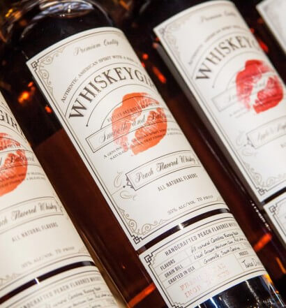 "Whiskey Girl Is ""Putting the Balls Back In Girls' Night"", whiskey bottles, various flavors, what's chilling right now, featured image"