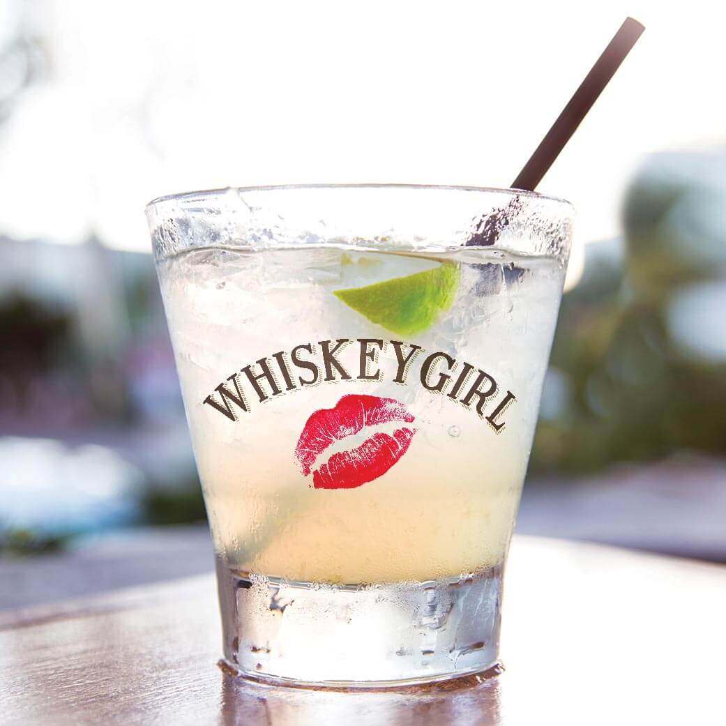 Carolina Apple Mule cocktail made with Whiskey Girl flavored whiskeys, what's chilling right now