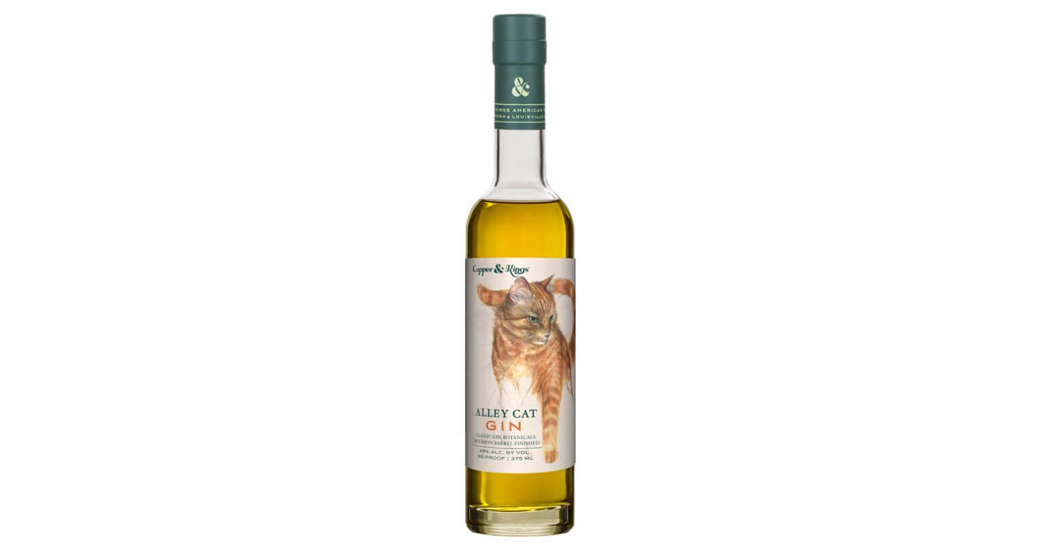 Copper & Kings Launches 'Alley Cat' Bourbon Barrel Aged Gin, featured brands, featured image