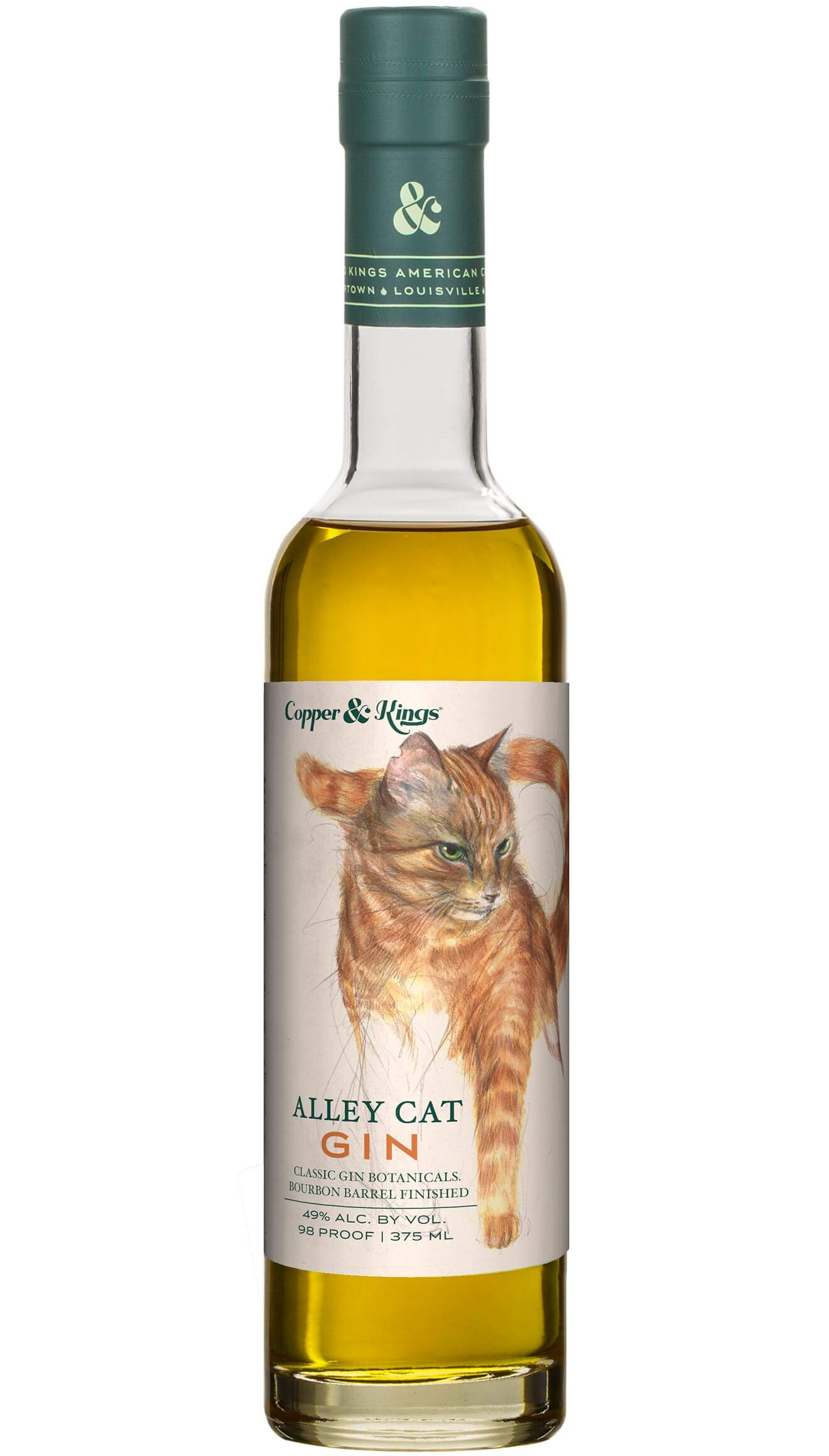 Copper & Kings Launches 'Alley Cat' Bourbon Barrel Aged Gin, featured brands