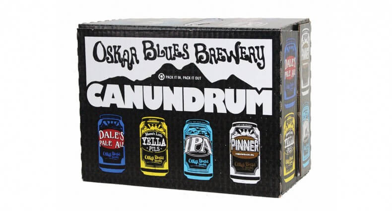 Oskar Blues Launches New Strain of IPA Canundrum, beer, featured image