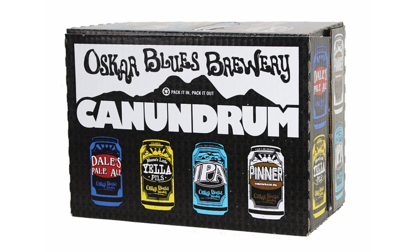 CANANDRUM Variety Pack from Oskar Blues Brewery, beer