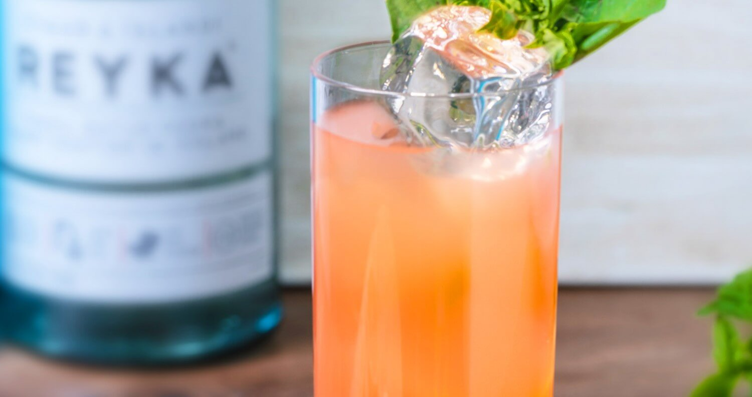 Reyka Vodka 'Not So Secret Garden' Cocktail, cocktail recipes, featured image