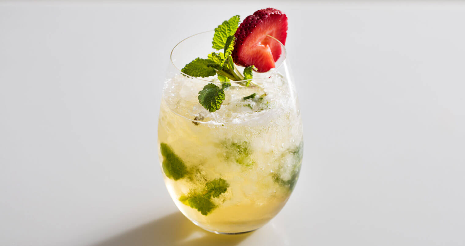 Kentucky Derby Cocktail - The Mumm Julep, cocktail recipes, featured image