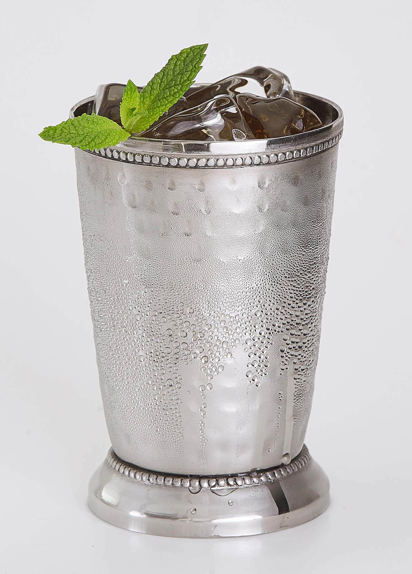 Ginger Julep cocktail made with Rebel Yell Bourbon