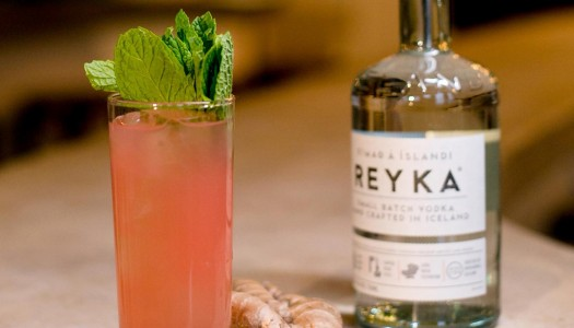 Celebrate Icelandic Summer With the Reyka Pink Grapefruit Cocktail