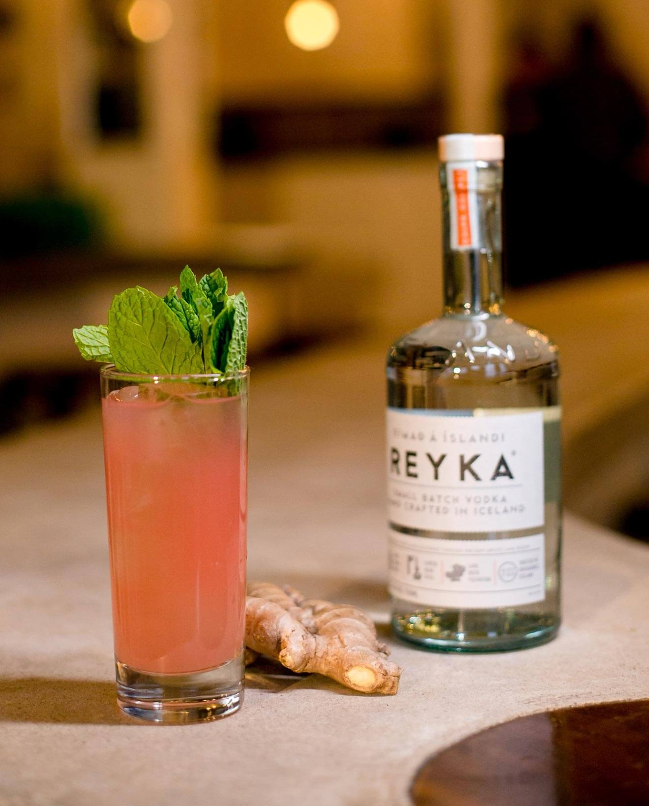 Reyka Pink Grapefruit, cocktail recipes