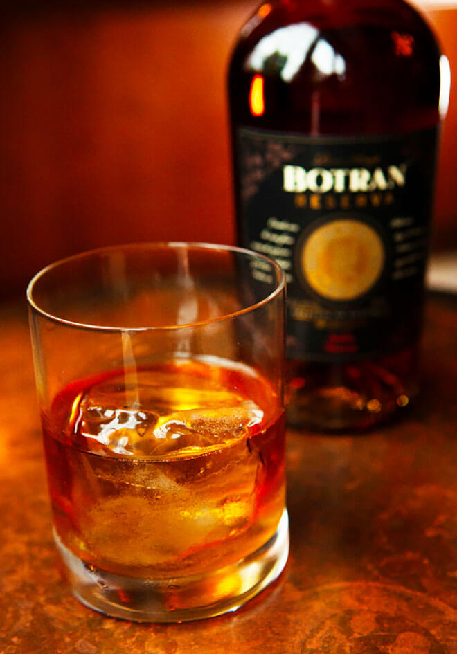 Botran Reserva Rum Cocktail and Bottle, industry news
