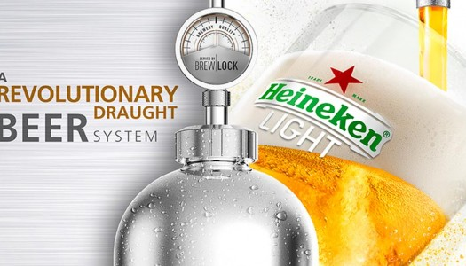 Heineken Light and Strongbow Hard Apple Cider Now Available on Heineken Brewlock