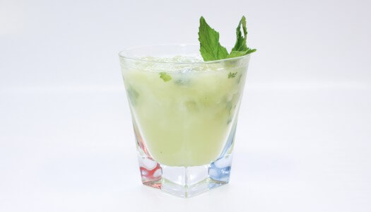 Chilled Drink Of The Week: Honeydew Ginger Mojito