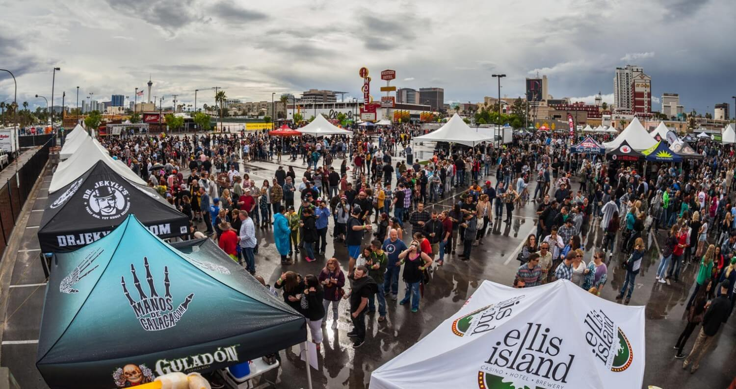 Motley Brews' 2016 Great Vegas Festival of Beer Celebrates Biggest Festival Yet, beer news, featured image