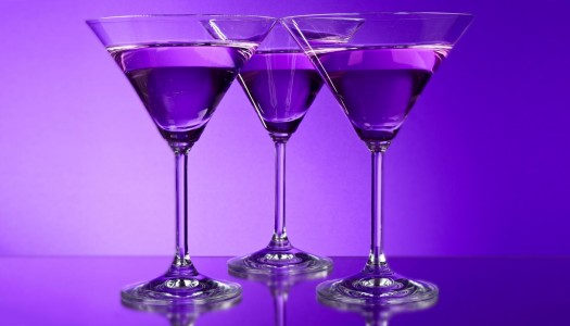 Pay Tribute to PRINCE by Mixing Up Purple Cocktails