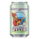 Saint Arnold Introduces 5 O'Clock Pils, beer news, featured image