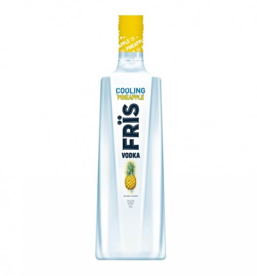 FrÏs Launches Pineapple Flavored Vodka, featured brands, featured image