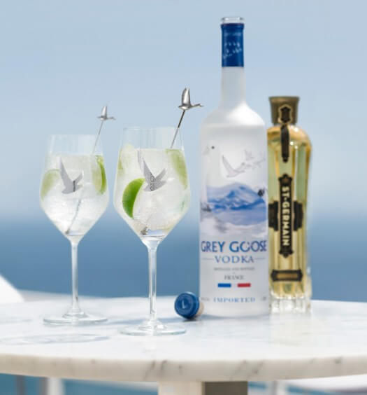 Derby Day Grey Goose Cocktails, le grand fizz, cocktail recipes, featured image