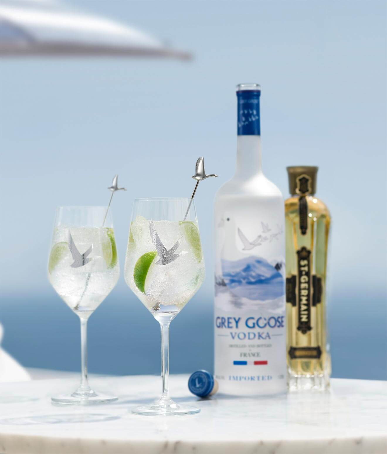 Le Grand Fizz cocktail from Grey Goose Vodka, cocktail recipes