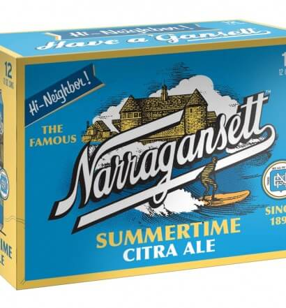 Narragansett Unveils Summertime Citra Ale, narragansett, beer news