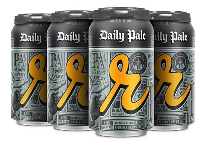 Reuben's Brews Daily Pale - Official Beer of Seattle Beer Week, beer news
