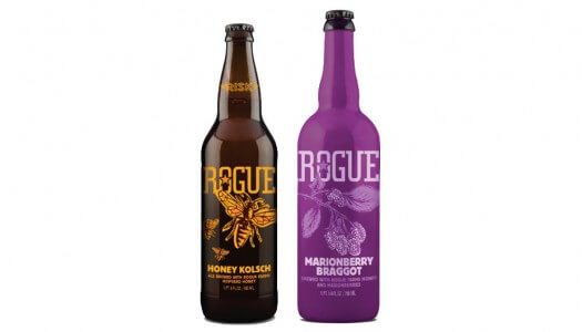 Rogue Ales Releases Honey Kolsch and Marionberry Braggot