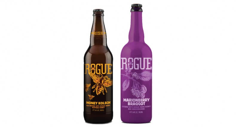 Rogue Ales Releases Honey Kolsch and Marionberry Braggot, beer news, featured image