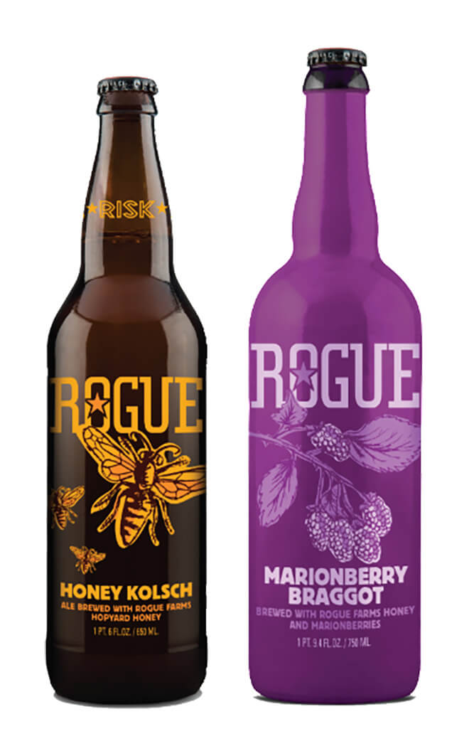 Rogue Ales Releases Honey Kolsch and Marionberry Braggot, beer news