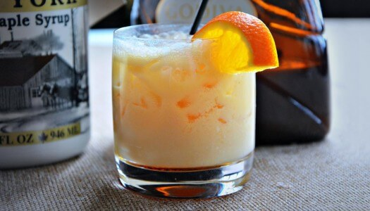 Must Mix: Maple Syrup Cocktails