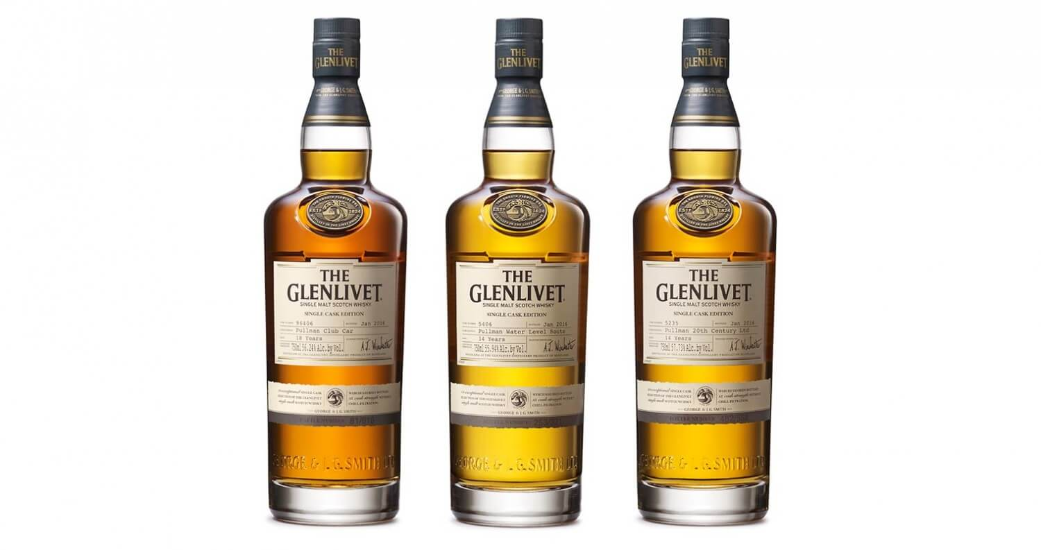 The Glenlivet Releases Pullman Train Collection, featured image