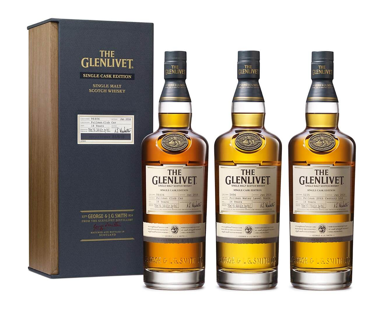 The Pullman Train Collection by Glenlivet