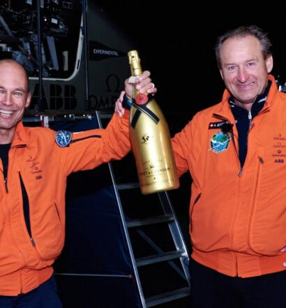 Moët Hennessy Celebrates Sustainability with First Solar Powered Flight Around the Globe, featured image