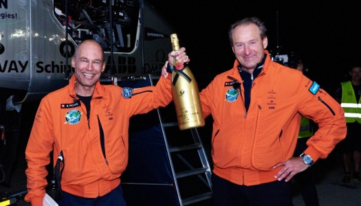 Moët Hennessy Celebrates Sustainability with First Solar Powered Flight Around the Globe