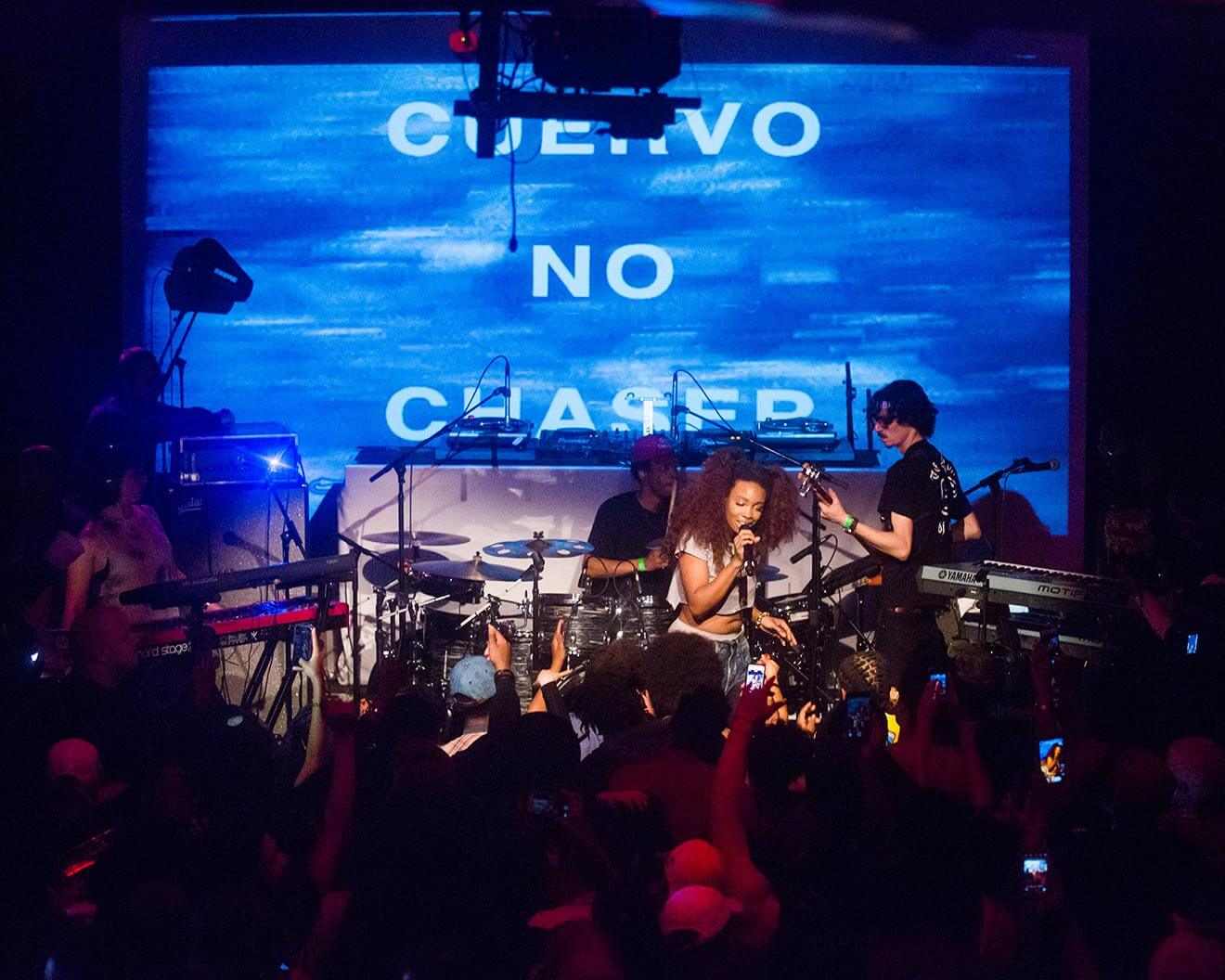 Singer/Songwriter SZA Celebrates Cinco with Jose Cuervo at Villain, Brooklyn NY, celebrity