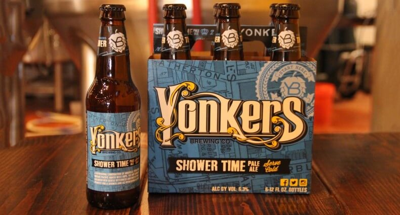 Yonkers Brewing Co. Launches Warm Weather Seasonal Beer, shower time IPA, beer news, featured image