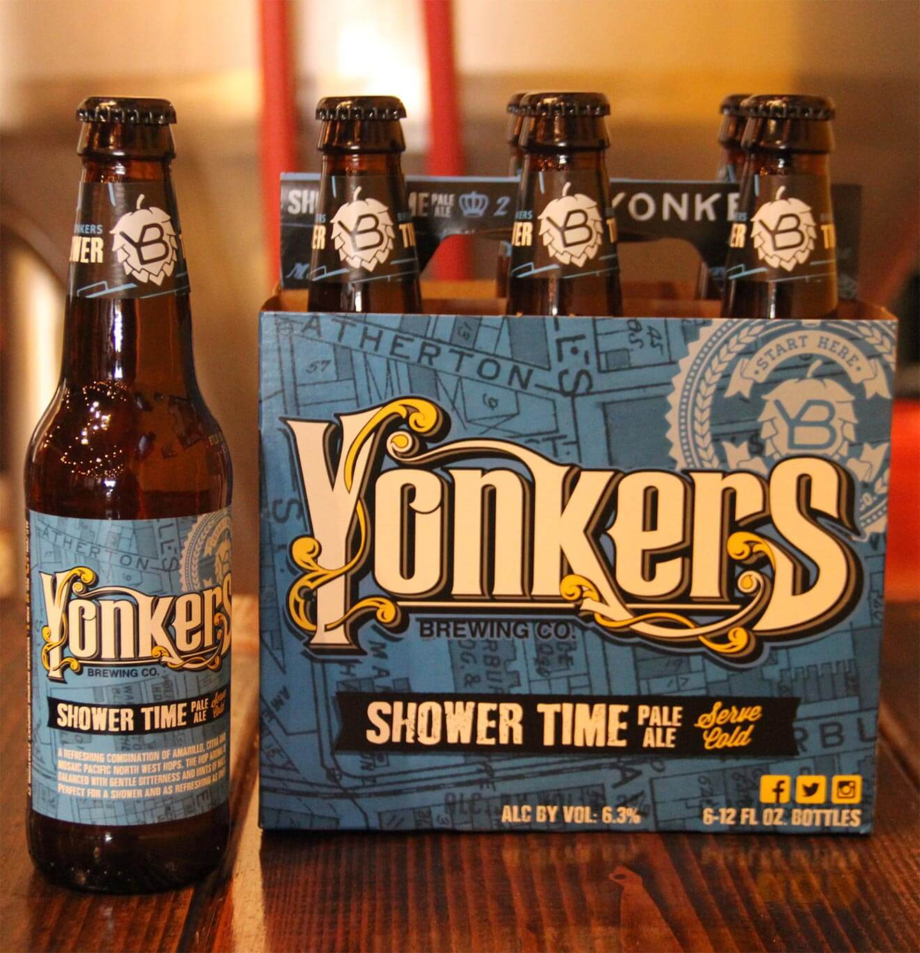 Shower TIme IPA, from Yonkers Brewing Co., beer news